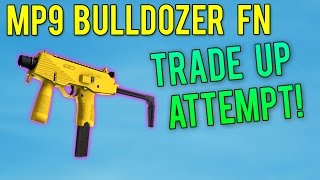 CS GO - MP9 Bulldozer FN (Super-Rare Skin) Trade Up Attempt!