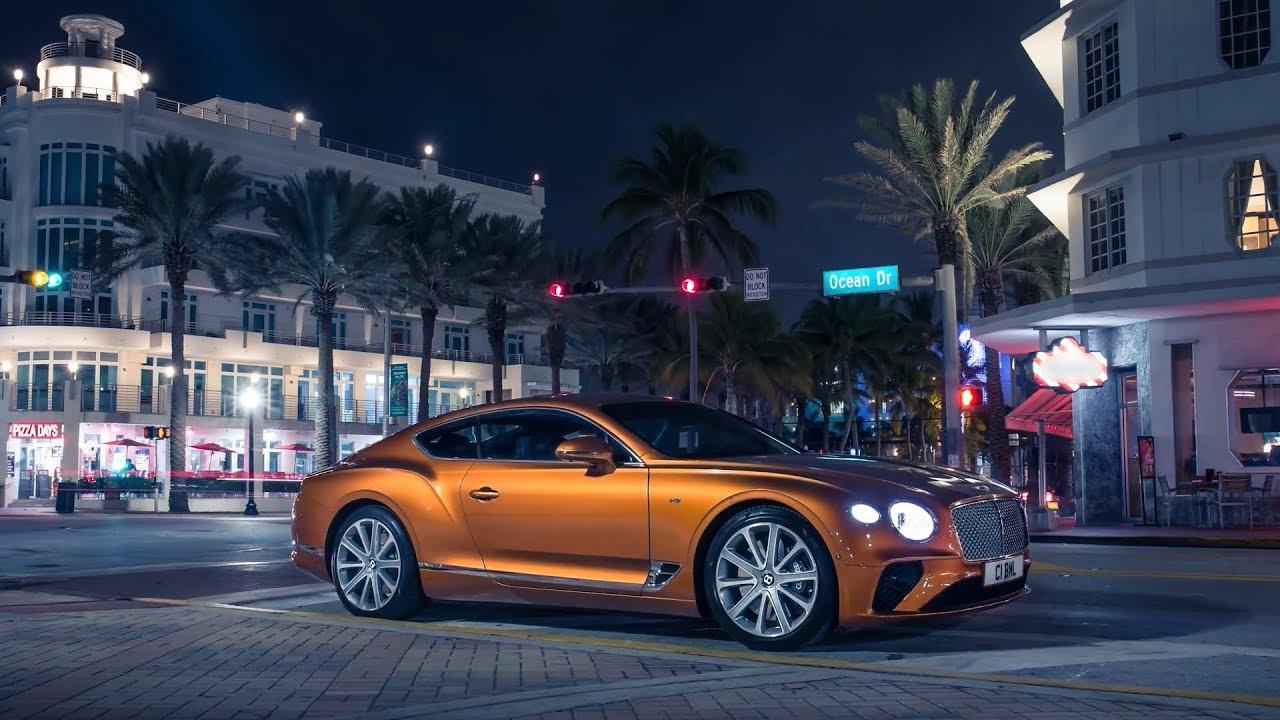 2020 Bentley Continental Gt V8 Coupe Orange Flame Exterior
