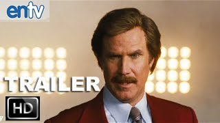 "Anchorman 2 Teaser Trailer 2 [HD]: Ron Burgundy, ""Did You Miss My Hot Breath In Your Ear?"""