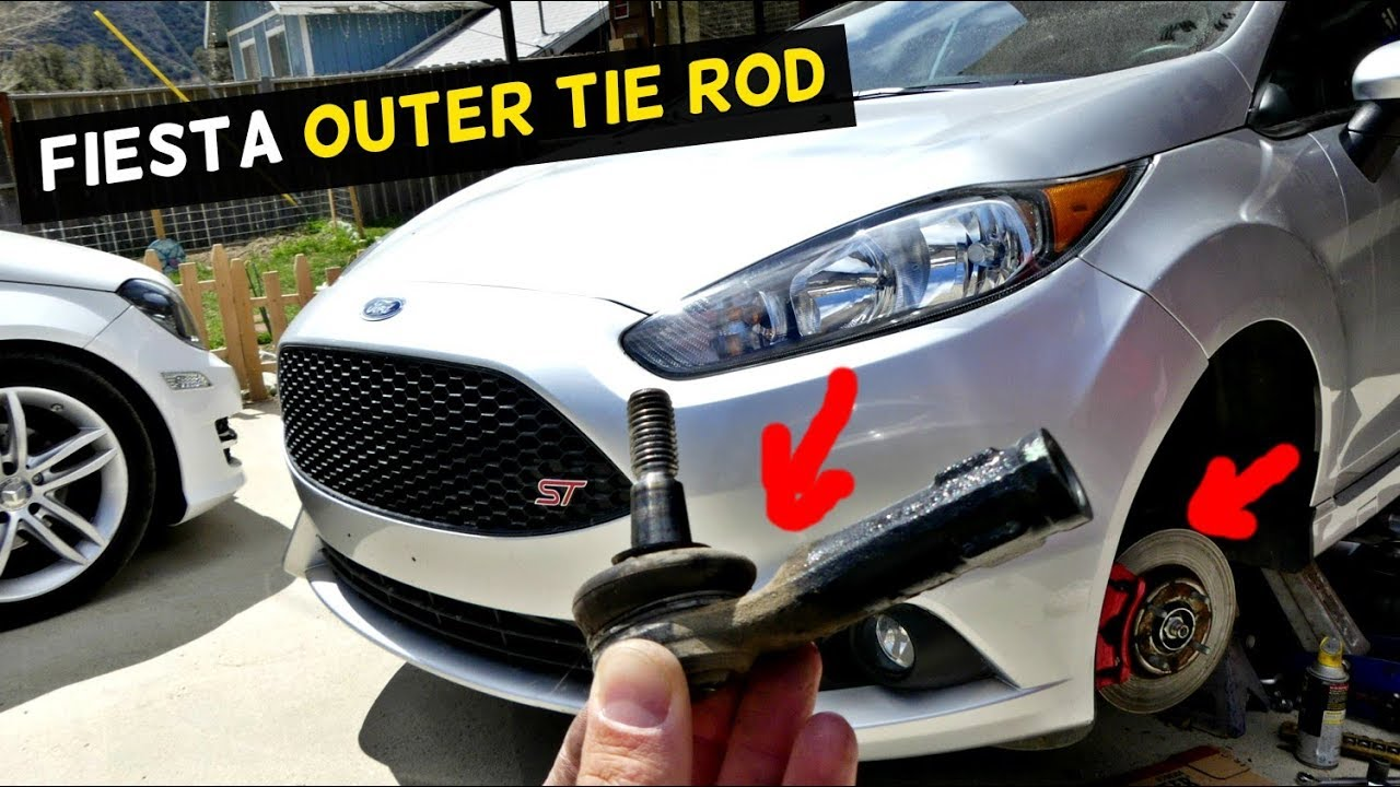 Ford Fiesta Outer Tie Rod Replacement Removal Mk7 St Youtube