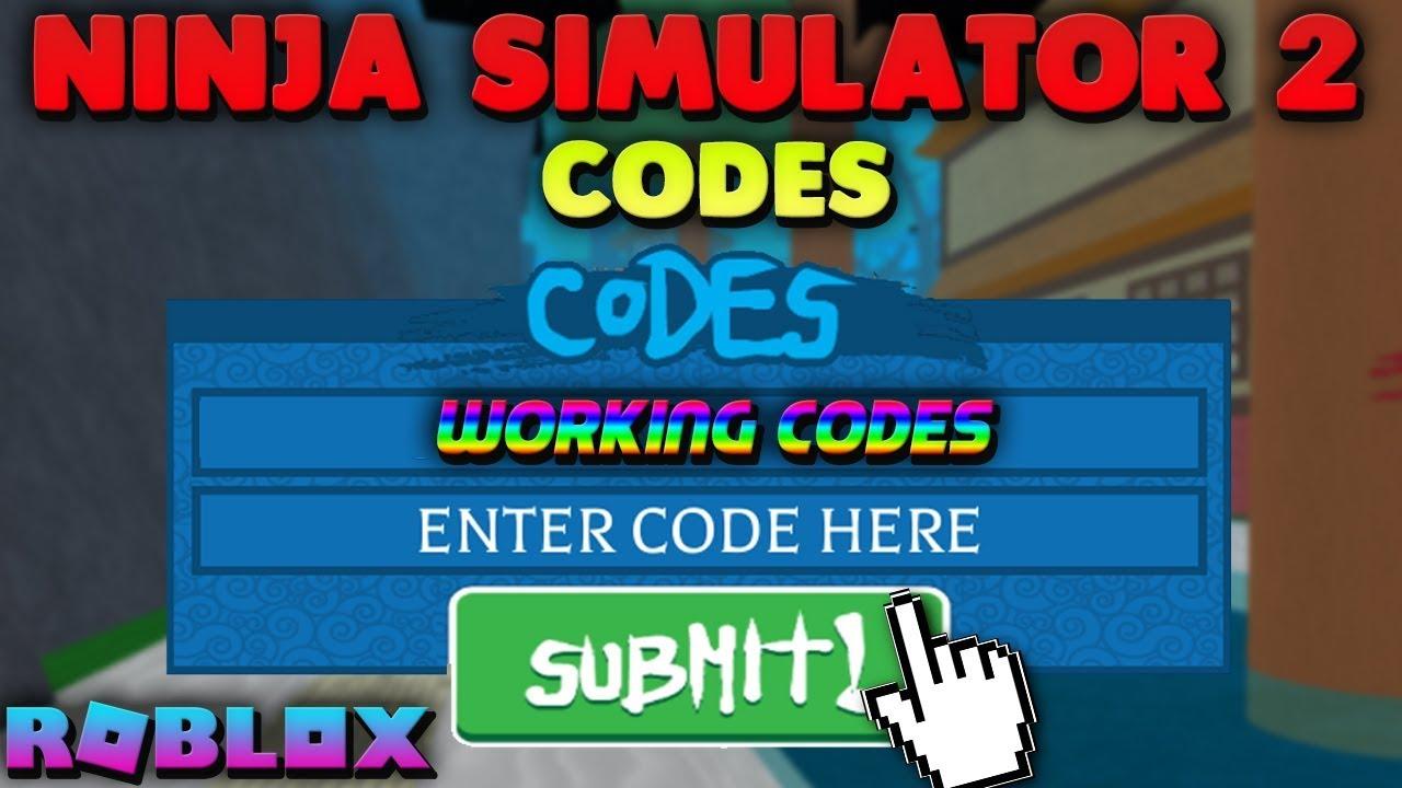Roblox Ninja Simulator 2 Codes Redeem Now All Working Codes