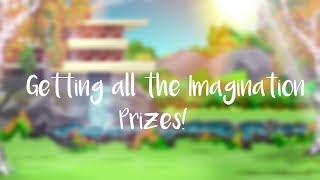 Getting all the Imagination prizes ROBLOX