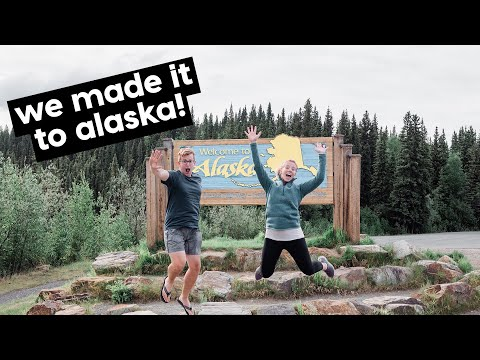 DRIVING TO ALASKA // British Columbia, Yukon & Alaska // TRAVEL VLOG