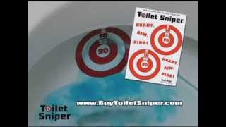 Toilet Sniper Potty Training Targets - As Seen On TV