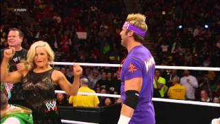 Zack Ryder vs. The Great Khali  - Raw Roulette WWE Karaoke Challenge: Raw, Jan. 28, 2013