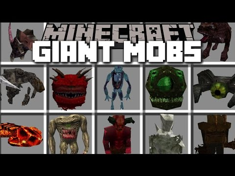 Minecraft GIANT MOBS