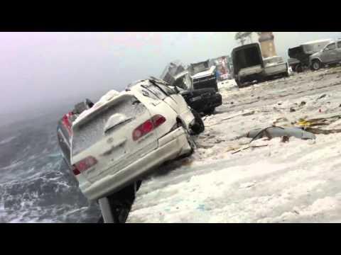 Перевозка машин из Японии в Россию, страшная картина!