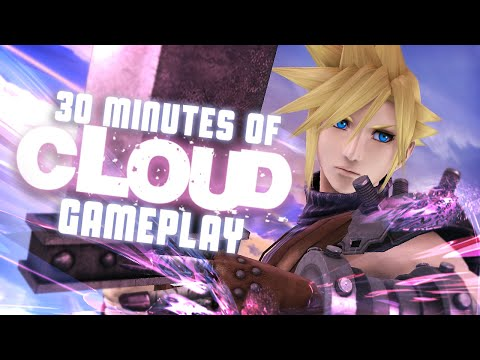 30 Minutes Of Cloud Gameplay Ft ZeRo & 6WX - Smash Bros Wii U