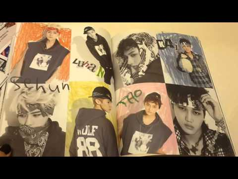 EXO / The 1st Album Unboxing
