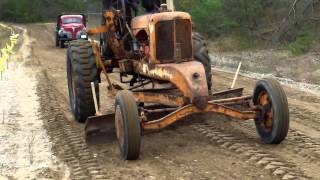 Antique Construction Equipment Demonstration