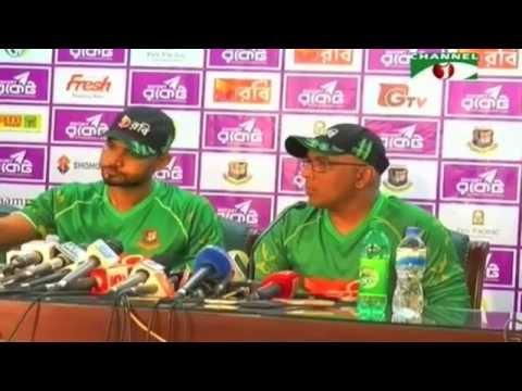 bangladesh vs afghanistan 2016  Post Match Press Conference before 1st odi