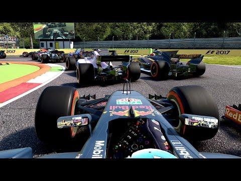 F1 2017 Italian GP Daniel Ricciardo LAST TO ? CHALLENGE