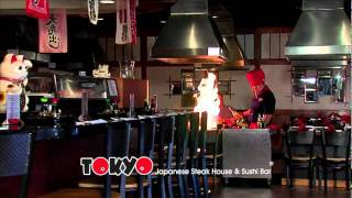 Visit Tokyo Japanese Steak House and Sushi Bar Today!!