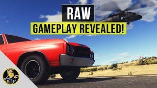 RAW - Gameplay Revealed NEW MMORP GAME
