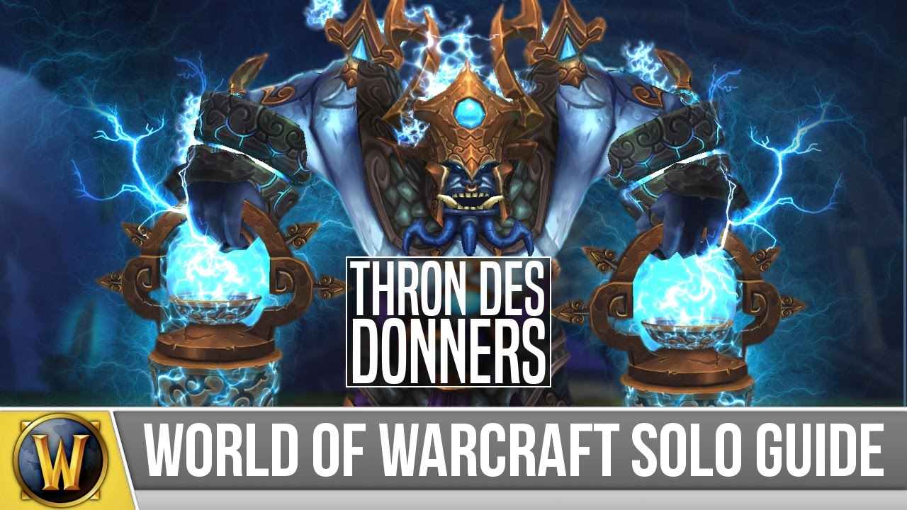 thron des donners solo