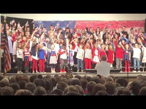 Runyon Elementary School Veteran's Day Concert 2017 - song 3