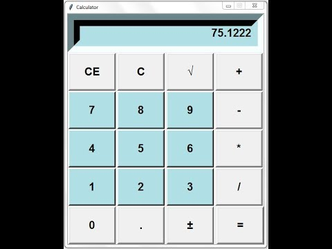 How to Create a GUI Calculator in Python - Full Tutorial