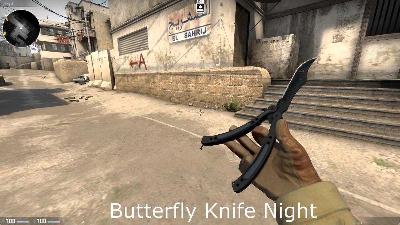 Cs Go Butterfly Knife Night Youtube