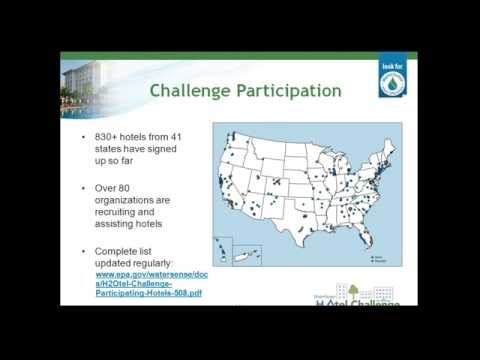 WaterSense H2Otel Challenge- Take the Plunge! Welcome Webinar