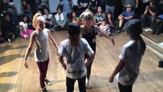Aye K & Phoenix Lil Mini battle Logistx and Goldirox vid 2