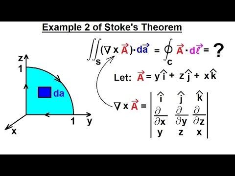 Physics - Advanced E&M: Ch 1 Math Concepts (24 of 55) Stoke's ...