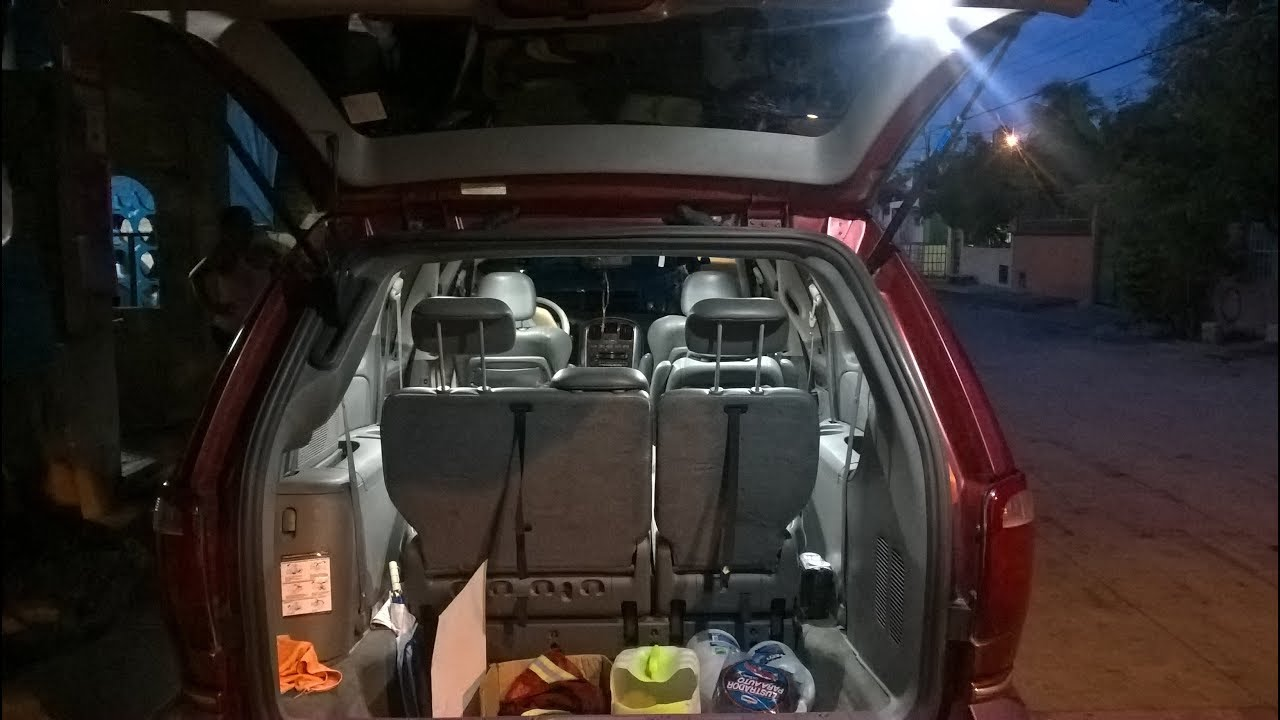 medium resolution of how to change interior lights from a town country to led caravan voyager chrysler