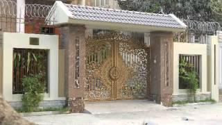 Cổng nhà kiểu pháp, cổng biệt thự đẹp, cổng nhà phố, cổng biệt thự nhà vườn