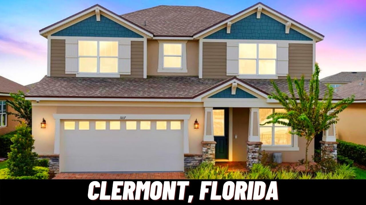 NEW HOMES IN CLERMONT, FLORIDA   Griffin Model   Jones Group Real Estate