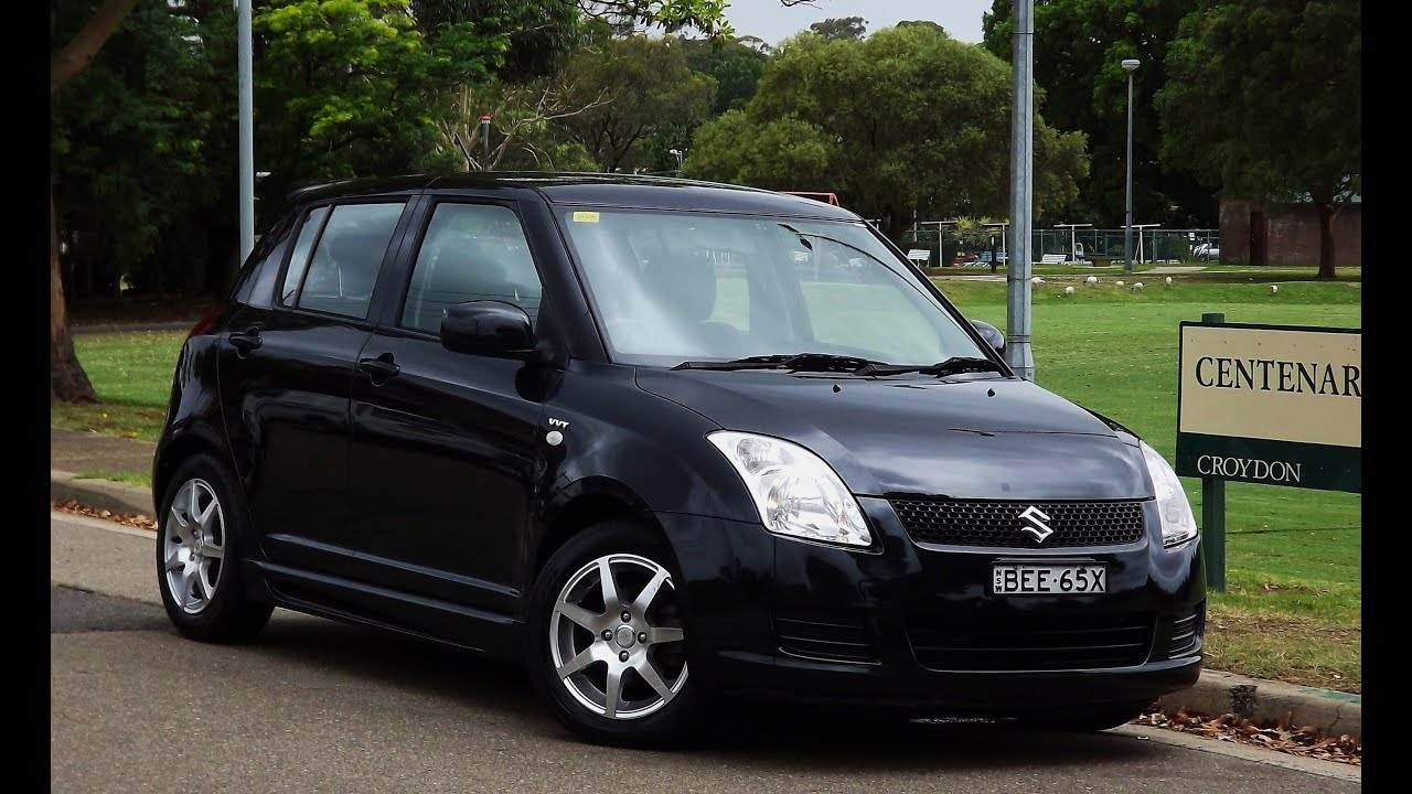 2007 suzuki swift rally edition 1 5 door hatch manual 8 youtube. Black Bedroom Furniture Sets. Home Design Ideas