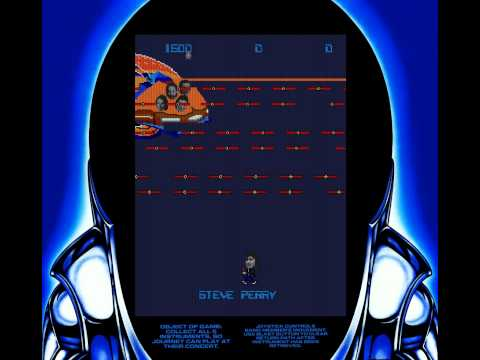 Journey (The Band) - Arcade game from 1983