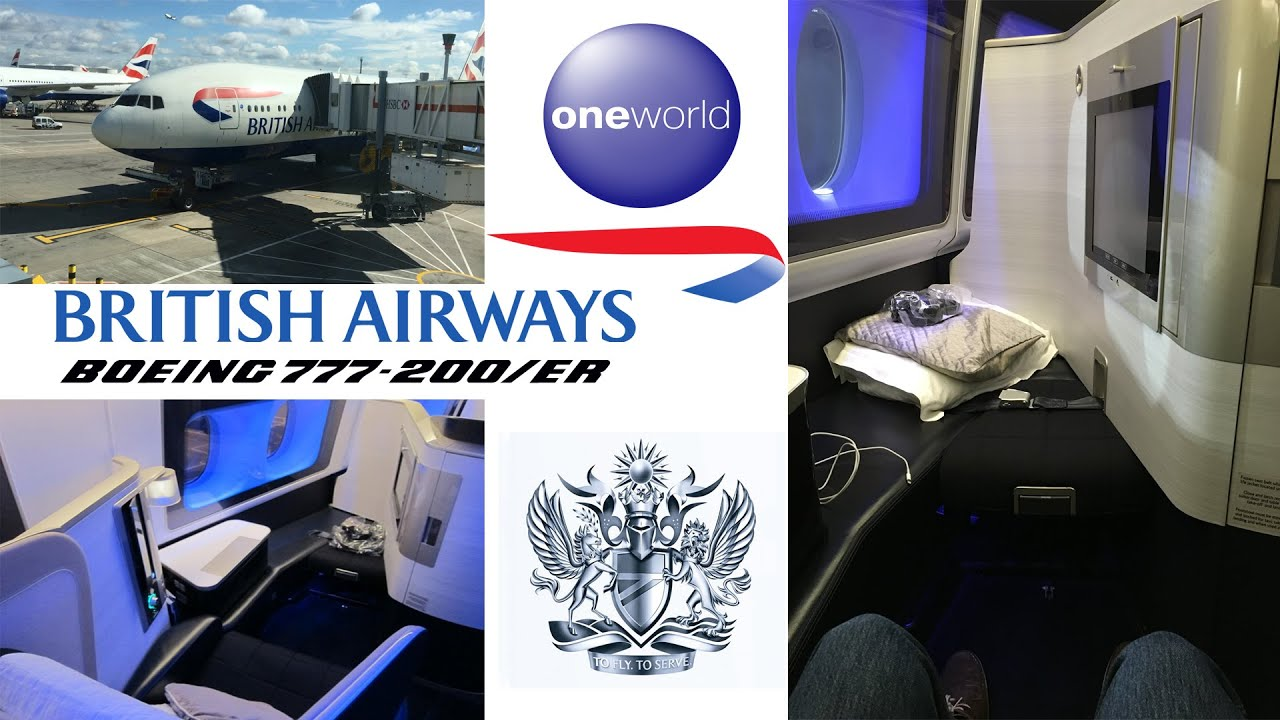 british airways first class boeing 777 new york to london