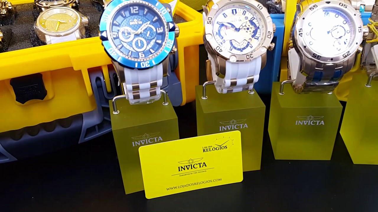 a5576e9b4f4 🌟Relógios invicta disponíveis  preço justo e originalidade é aqui na loja  dos relógios