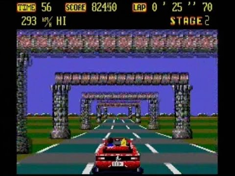 OUTRUN 2013 - 2015 (AMSTRAD CPC / PC REMAKE - FULL GAME)