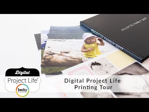 Digital Project Life Printing Tour
