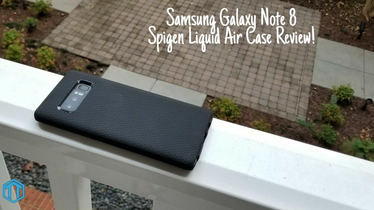 low priced 7c8ff 4a40e Samsung Galaxy Note 8 Spigen Liquid Air Case Review!