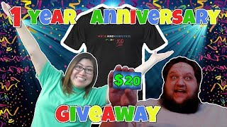 Sign up for the FREE GIVEAWAY! Variety stream! Join in, play games!