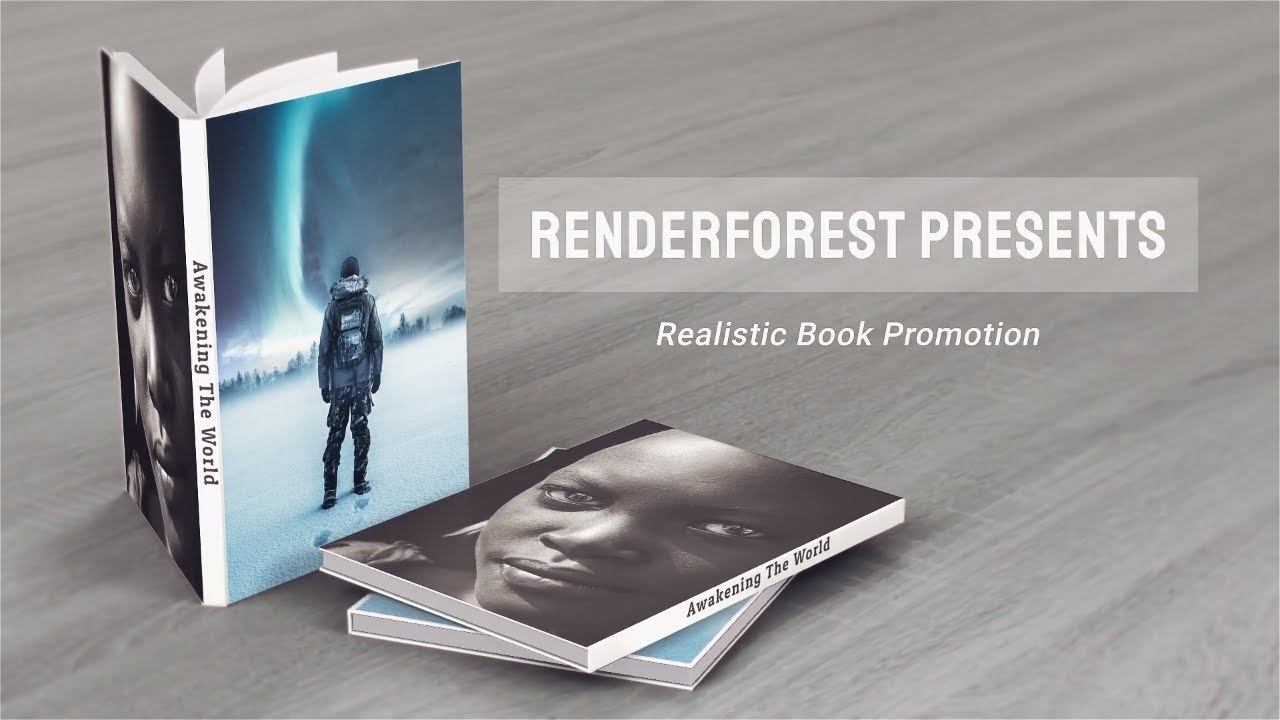 Book Promotional Video Template