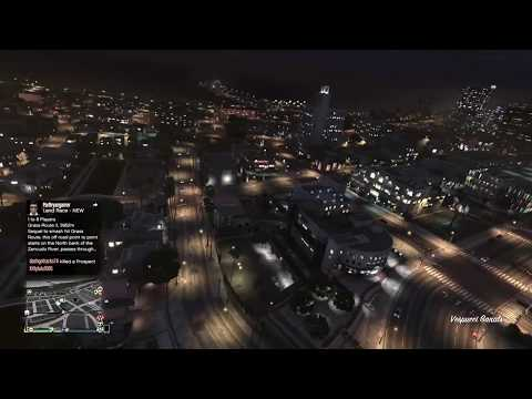 Same GTA 5 Helicopter Strafing Run From 2 Different Cam Views