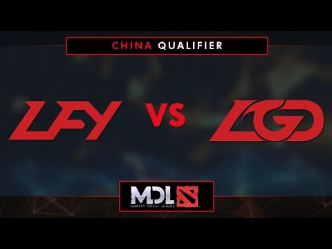 LFY vs LGD Game 3 - MDL 2017 China Qualifier: Winners' Finals - @LyricalDota @RyuuDota