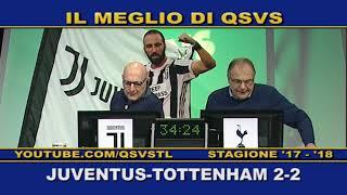 QSVS - I GOL DI JUVENTUS - TOTTENHAM 2-2  - TELELOMBARDIA / TOP CALCIO 24
