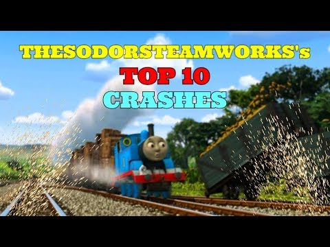 Top 10 Crashes | Thomas and Friends