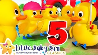 Count to 5 | Learn English for Kids | Cartoons for Kids | Nursery Rhymes | Little Baby Bum