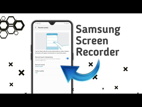 Samsung Screen Recorder For A50,A70,A30.(Links Updated)