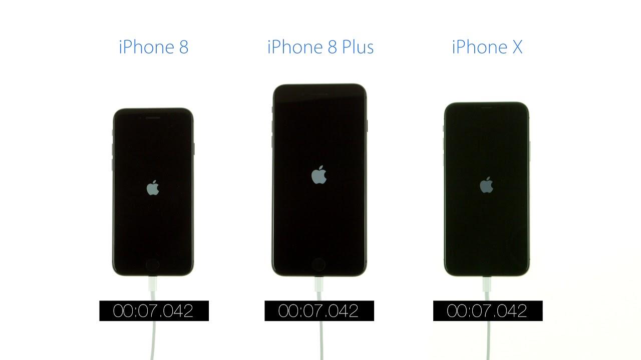 Iphone 8plus vs x speed