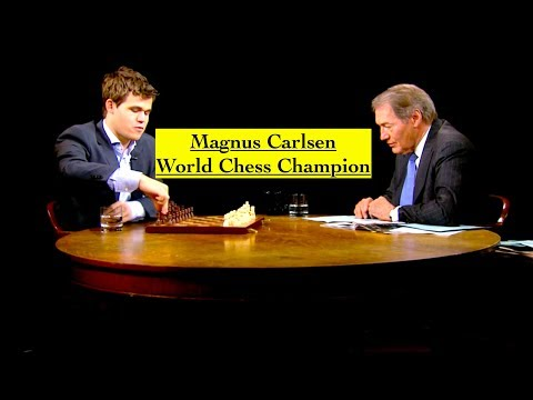 "Magnus Carlsen: ""How My Mind Works"" 2013 Interview"