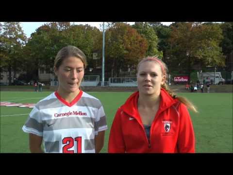 Carnegie Mellon Women's Soccer Post Wash. U. Game Interview