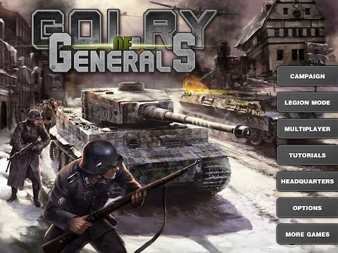 Glory of Generals walkthrough - Battle of El Alamein