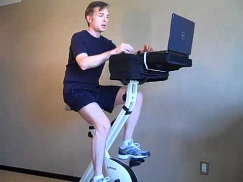 Fitdesk Review Laptop Exercise Bike