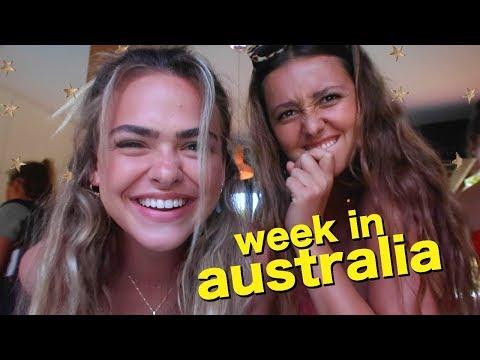 a week in australia with my best friend // week vlog!