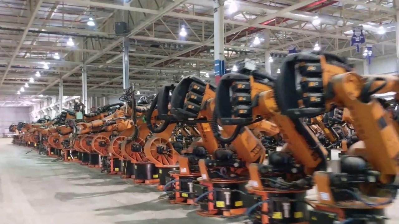 ballard international - kuka robot inventory tour - youtube